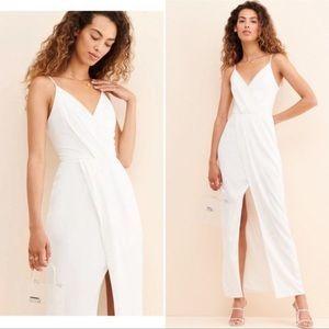 NWOT Harlyn Anthropologie High Slit Glamor Gown